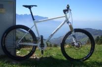Custom folding/packing mountain bike