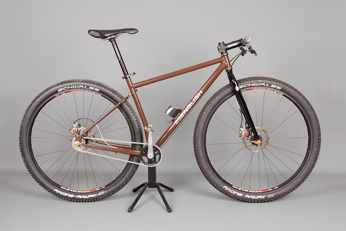 folding 29er mountain bike english cycles. Black Bedroom Furniture Sets. Home Design Ideas