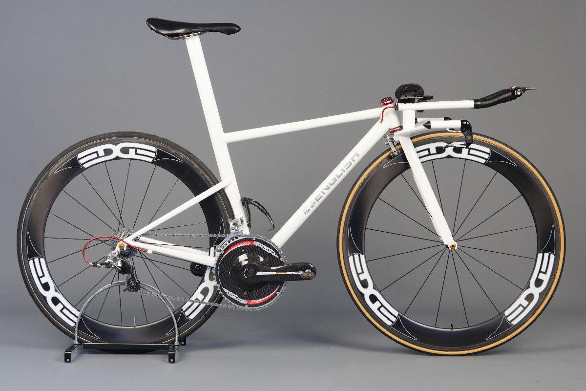 Gorgeous Custom Steel Naked TT Bike from Rob English