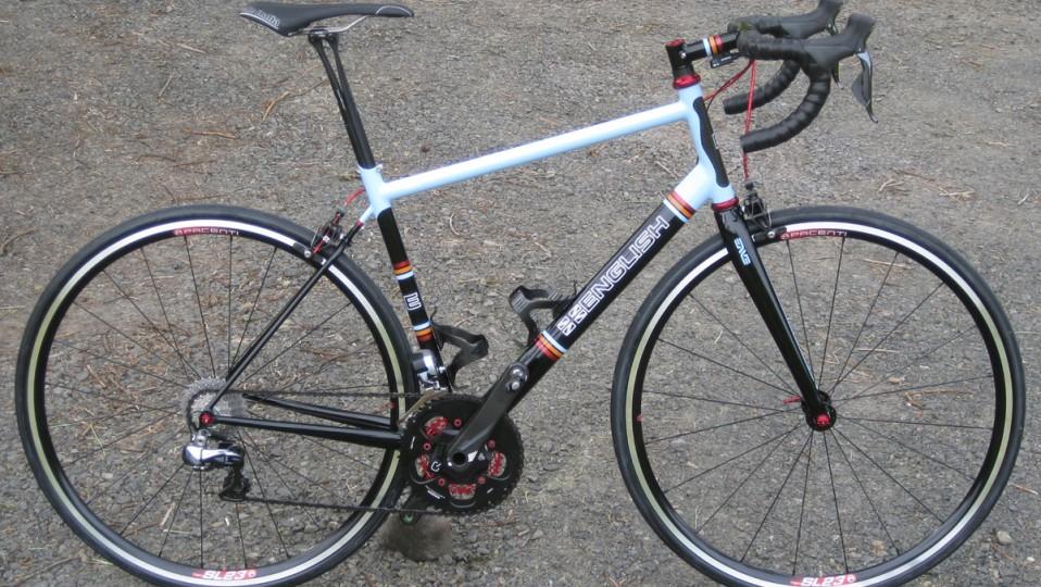Lance's road bike