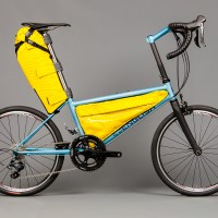 Thomas' 20″ travel bike