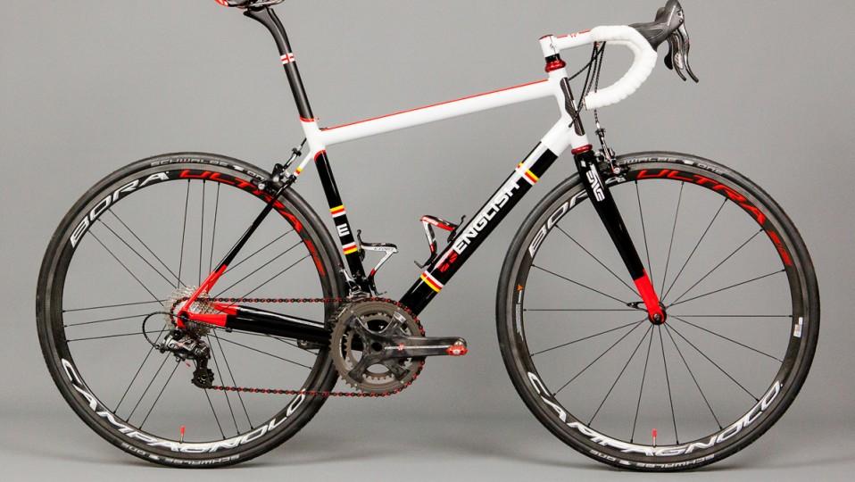 Duncan's road bike