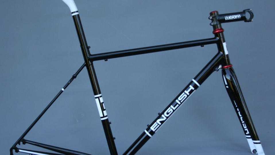 Dave's road frame