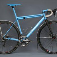 Andrew's training bike