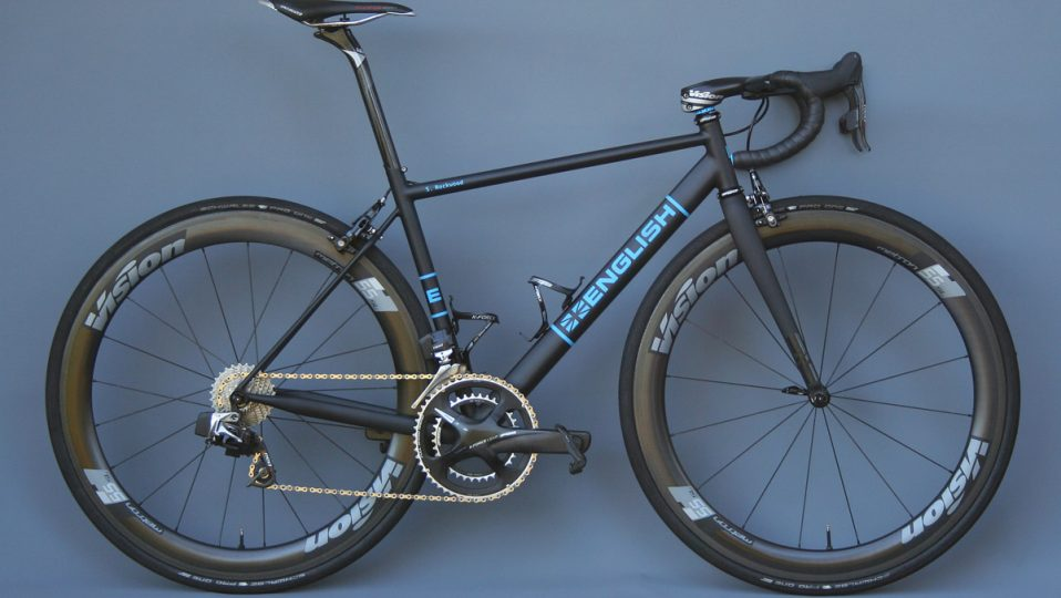 Stephen's team issue road bike