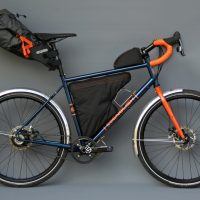 Denis' touring bike