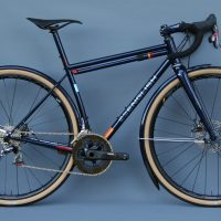 Yuhan's road/gravel bike