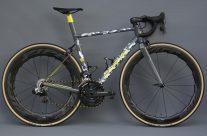 Ali's aero road bike