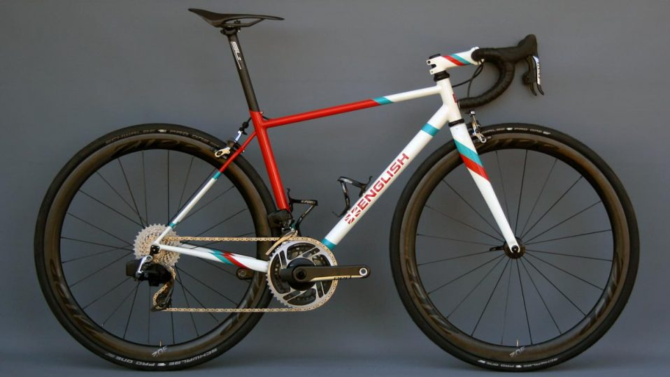 Tyler's road bike