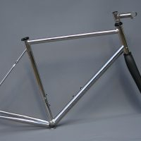 Stainless road frame