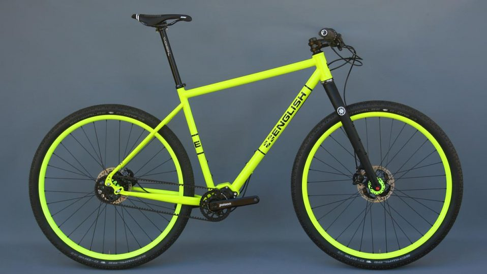 Patrick's Pinion adventure bike
